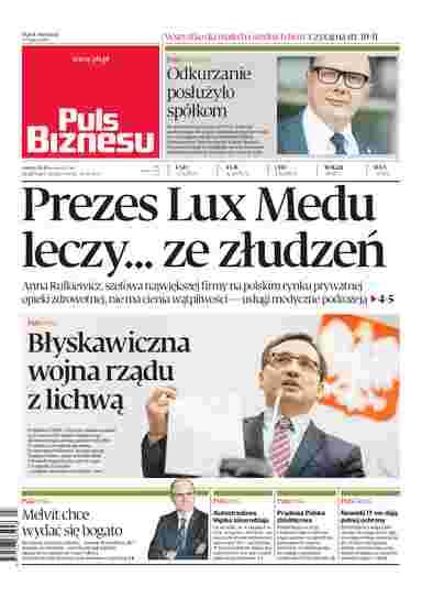 c79afbc70 Puls Biznesu - e-wydanie, e-prenumerata, gazeta online - eGazety.pl